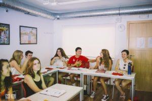 Étudiants du secondaire en Espagne