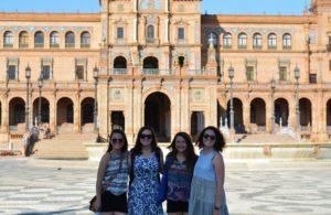 En la Plaza de España - estudiar en España