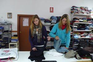 Gemeinnützige Arbeit in Spaninen