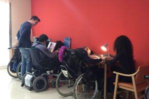 Menschen mit Behinderungen - Gemeinnützige Arbeit in Spanien