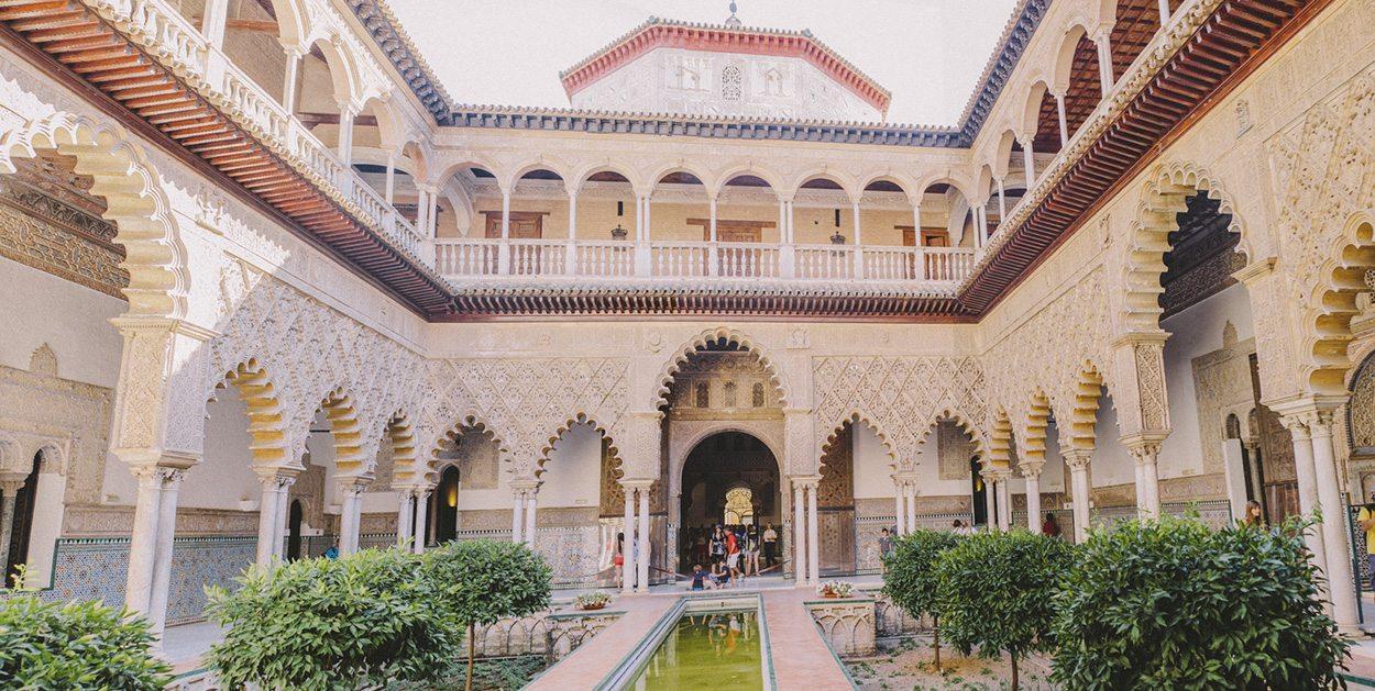 Real Alcazar in Sevilla - Sprach- und Kulturprogramme in Spanien