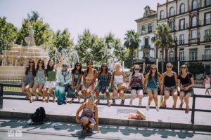 Sprach-Programm für Jugendliche in Sevilla