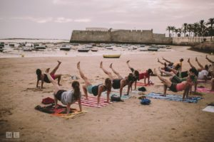 Yoga in Cadiz - study abroad Spain