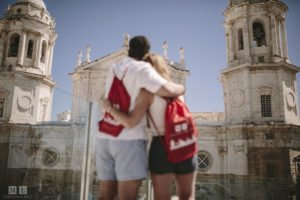 new friends in Cadiz - study abroad Spain