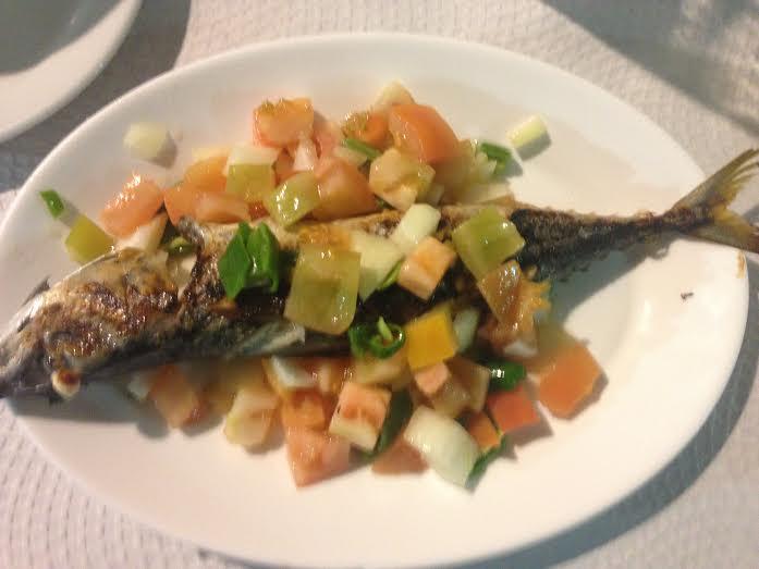 Enjoying pescaito frito