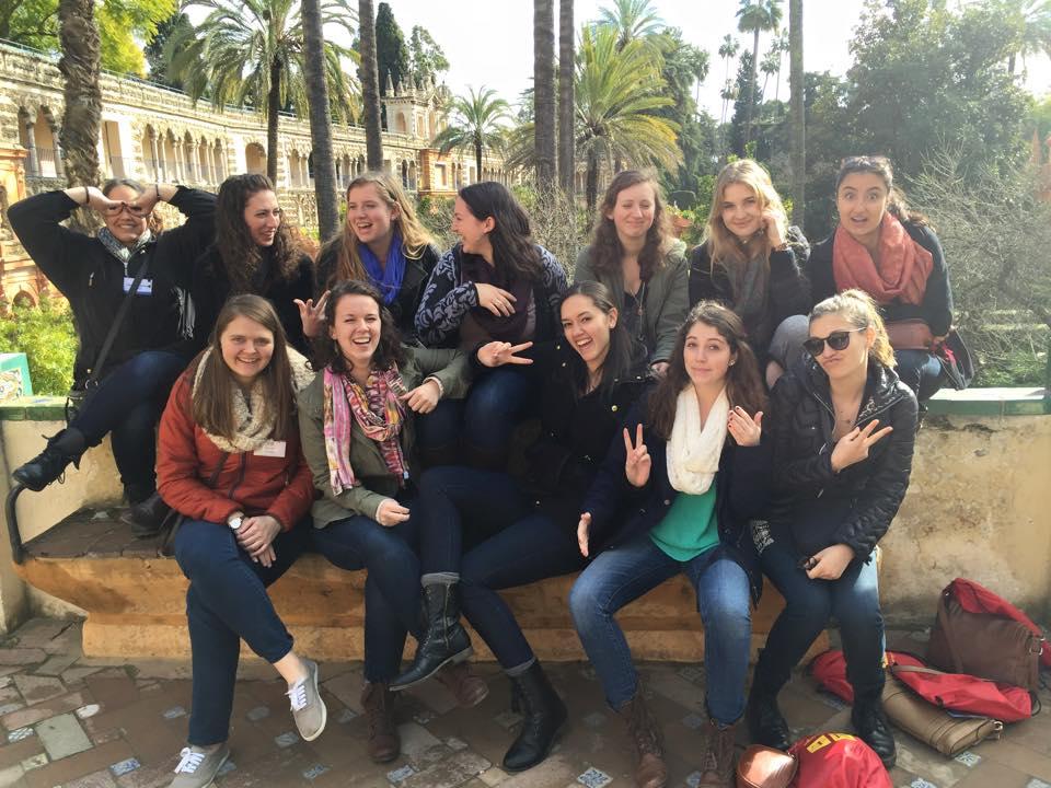 Visiting the Alcazar of Seville