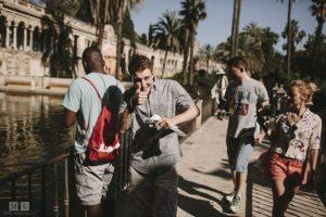 Besuch des Real Alcazar - IB Spanischkurs in Sevilla