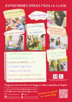 Poster pour la classe d´espagnol 1