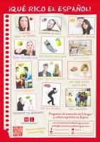 Poster pour la classe d´espagnol 3