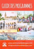 Guide des programmes  – écoles secondaires