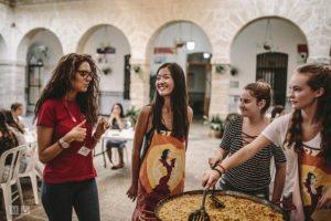 Clase de cocina española en Cádiz - curso de español IB en España