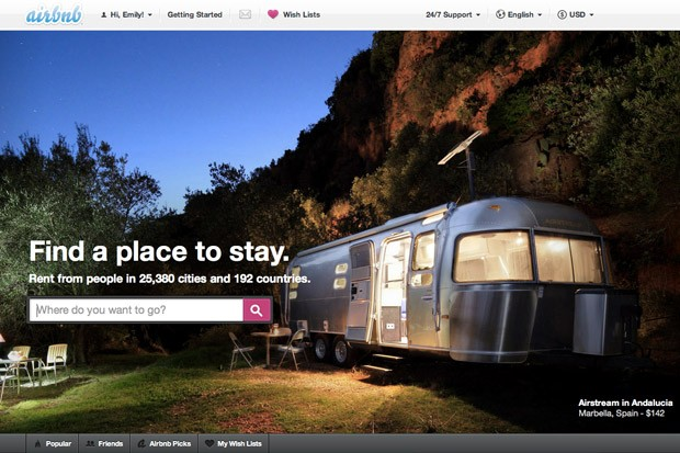 Lodging at an Airbnb