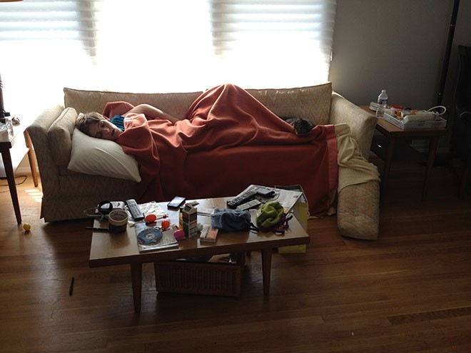 Lodging in couchsurfing