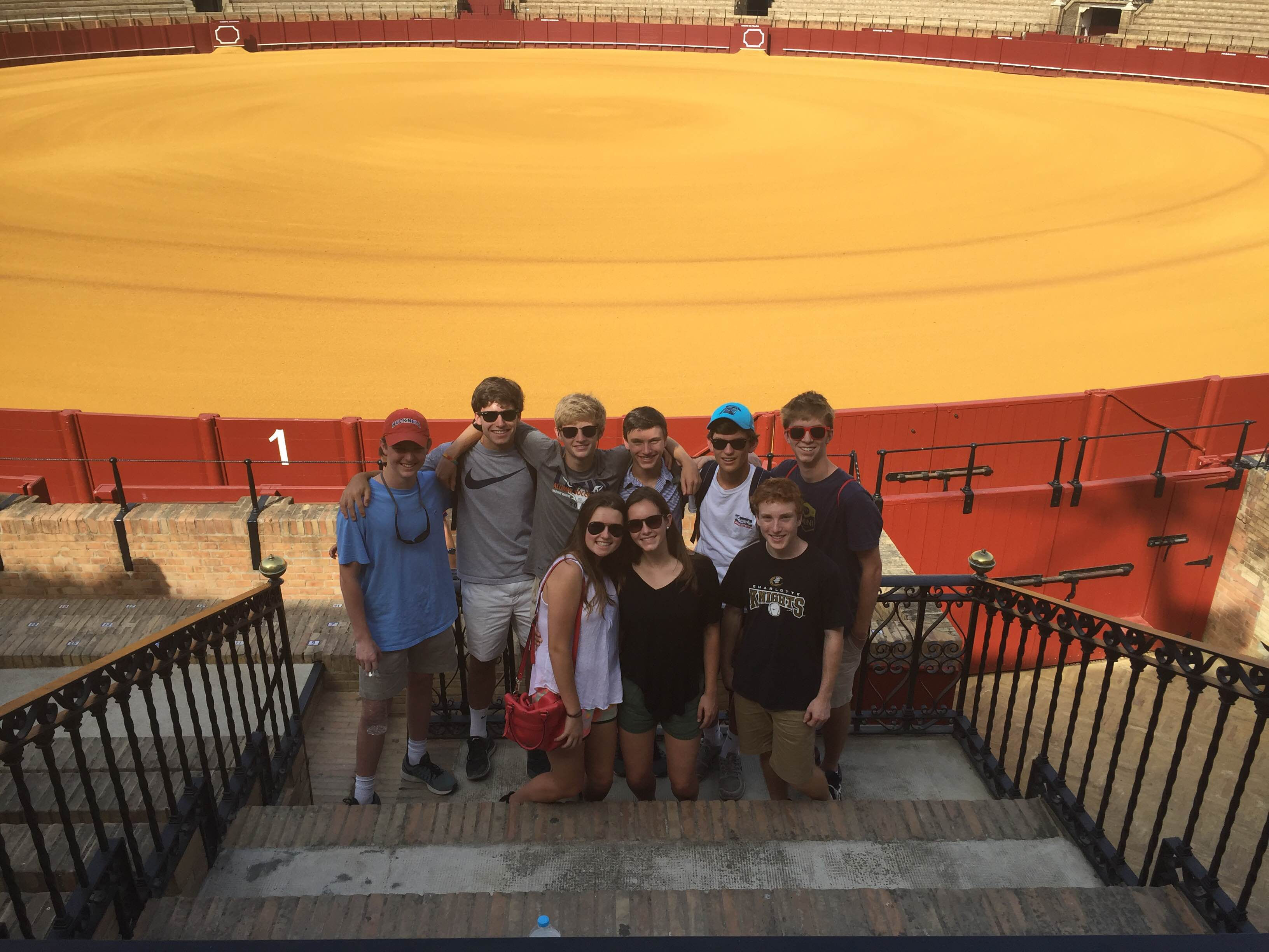 Charlotte Latin School goes to the Plaza de Toros