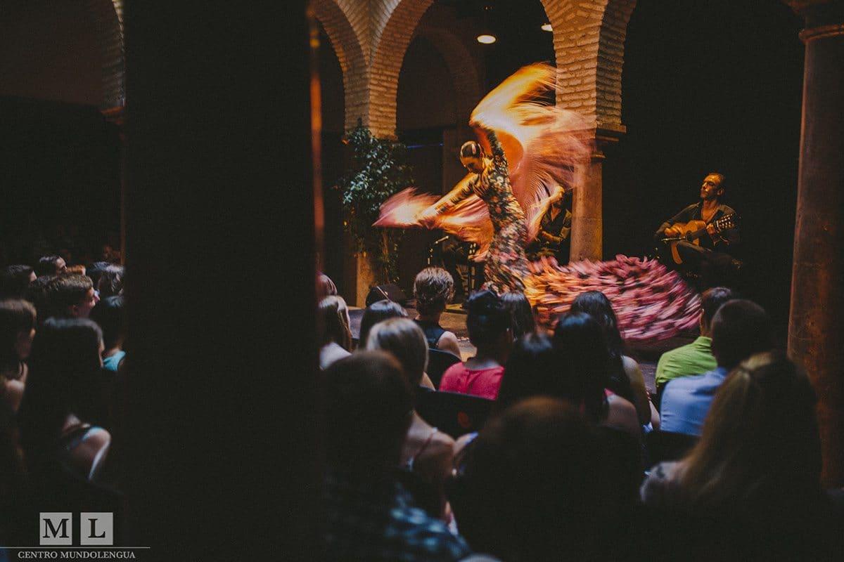 Flamenco show - study abroad sevilla