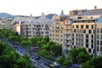 Paseo de Gracia - study abroad Barcelona