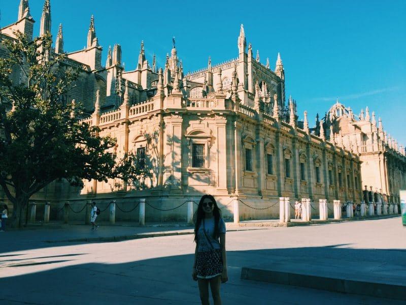 Mira Parekh - study abroad Seville