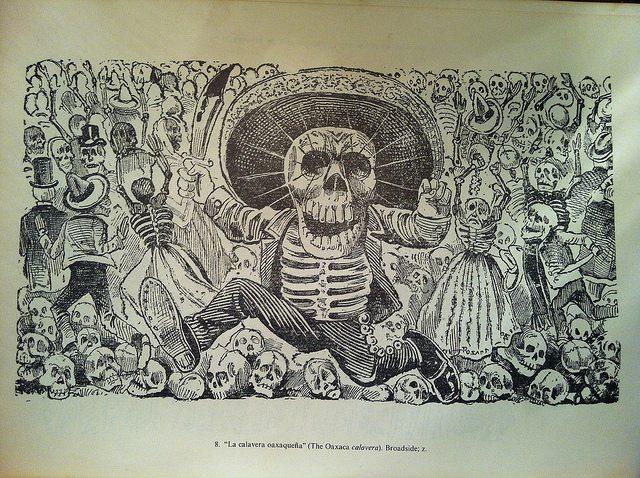 Obra de José Guadalupe Posada - foto de Lorenzo Tlaclaelel