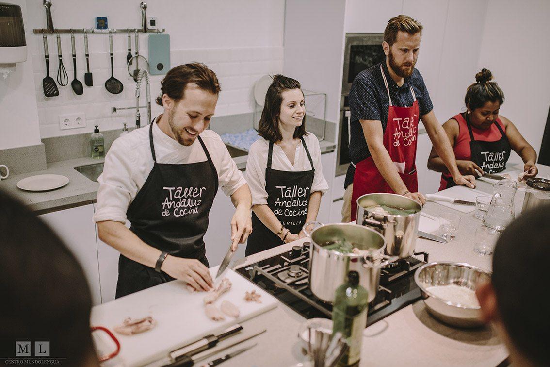 Cooking workshop - Intensive Spanish in Seville