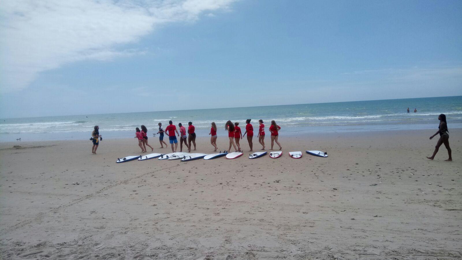 Cadiz surf lessons during our summer programs