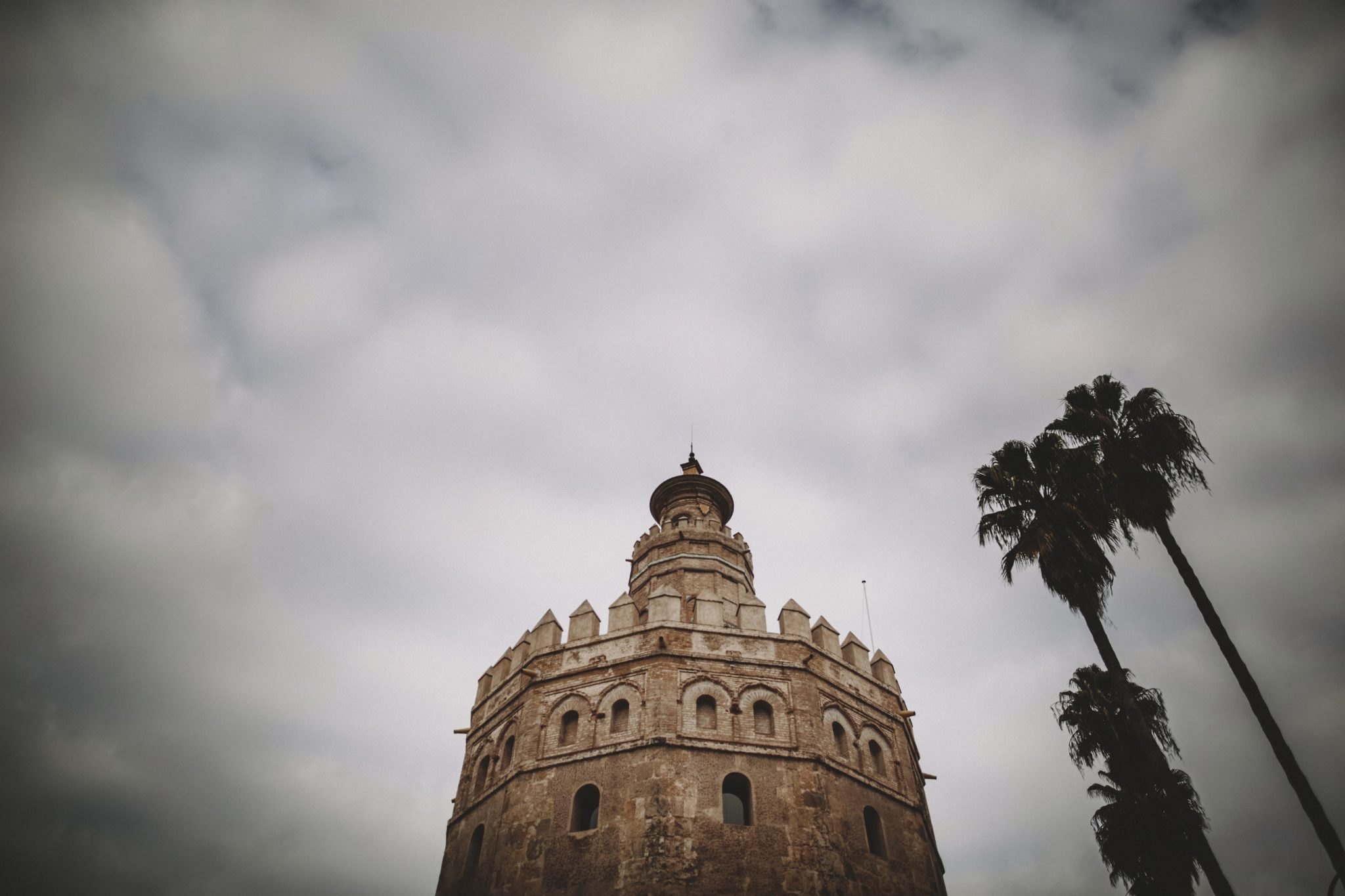 Beautiful picture of el torre de oro