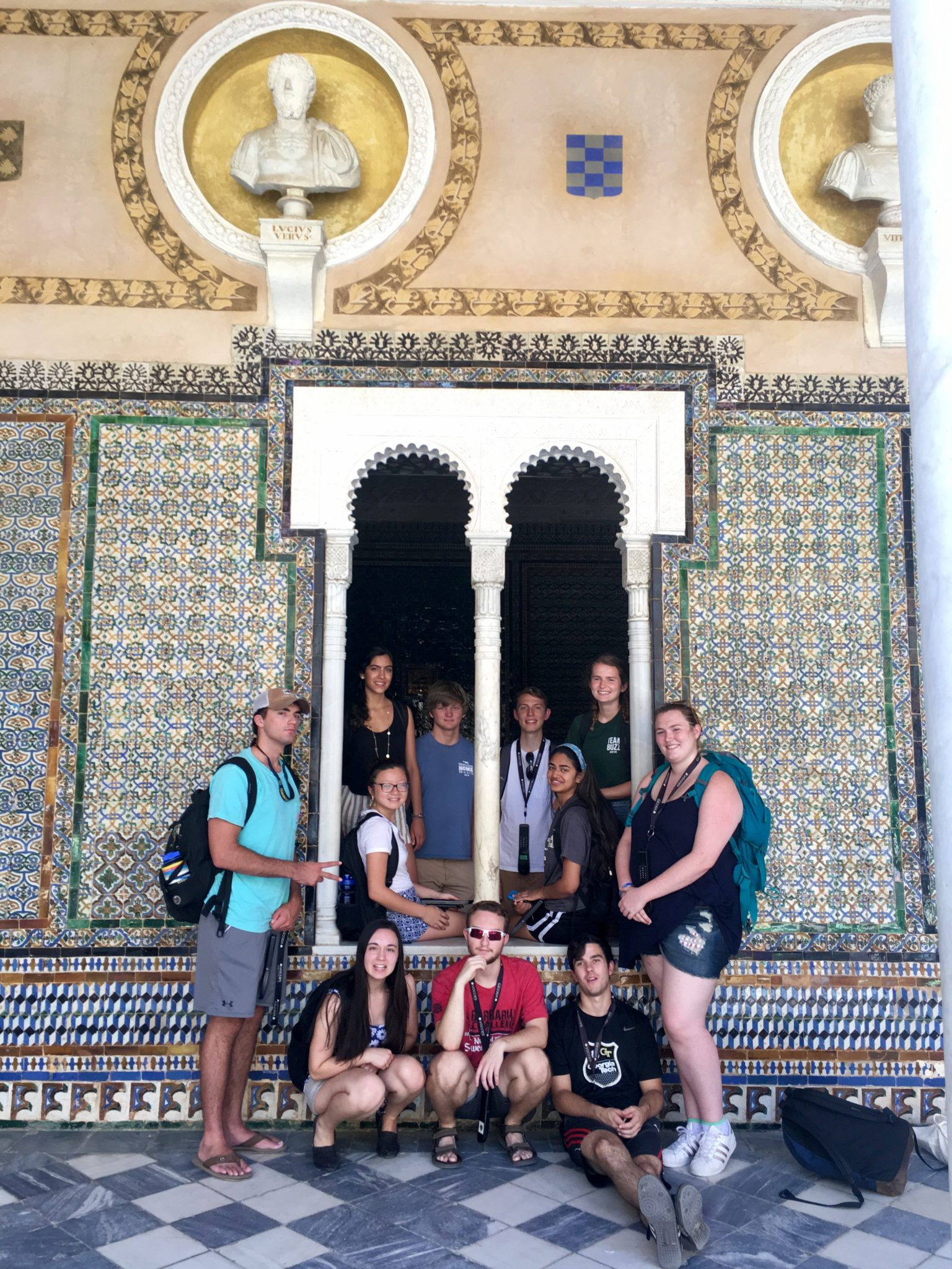 Georgia Teach students studying in Spain through an academic program with Centro Mundolengua