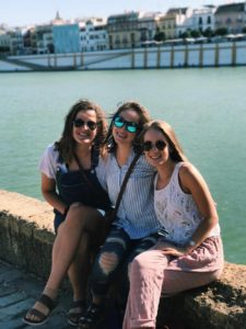 study abroad university fall semester program with Centro Mundolengua in Seville Spain learn Spanish language and cultural immersion live with Spanish host family rio Guadalquivir already part of spanish family