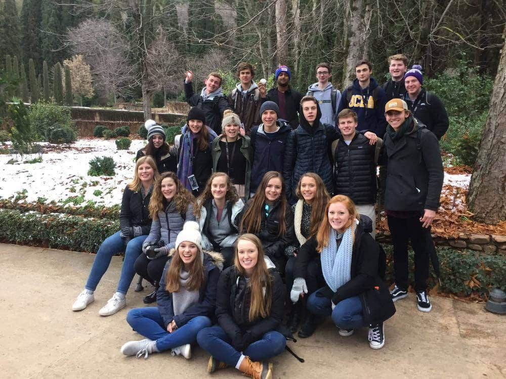 Greensboro Day School high school study abroad program spain centro mundolengua learn spanish travel wanderlust explore adventure