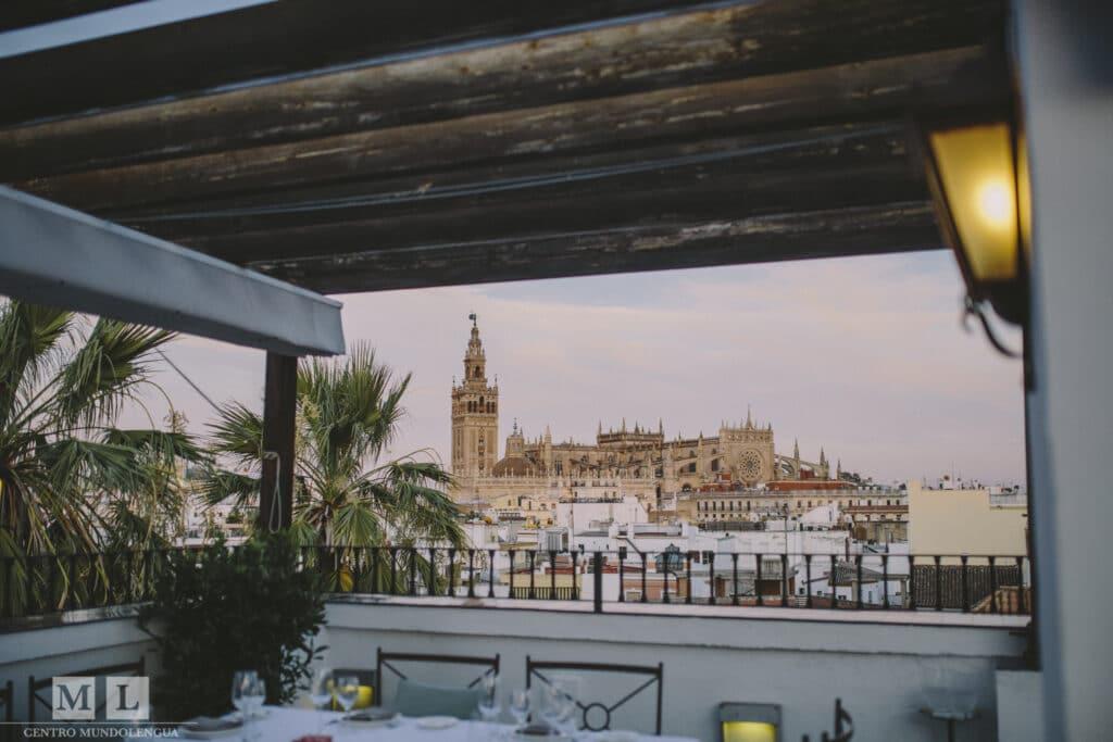 Rooftop in Sevilla