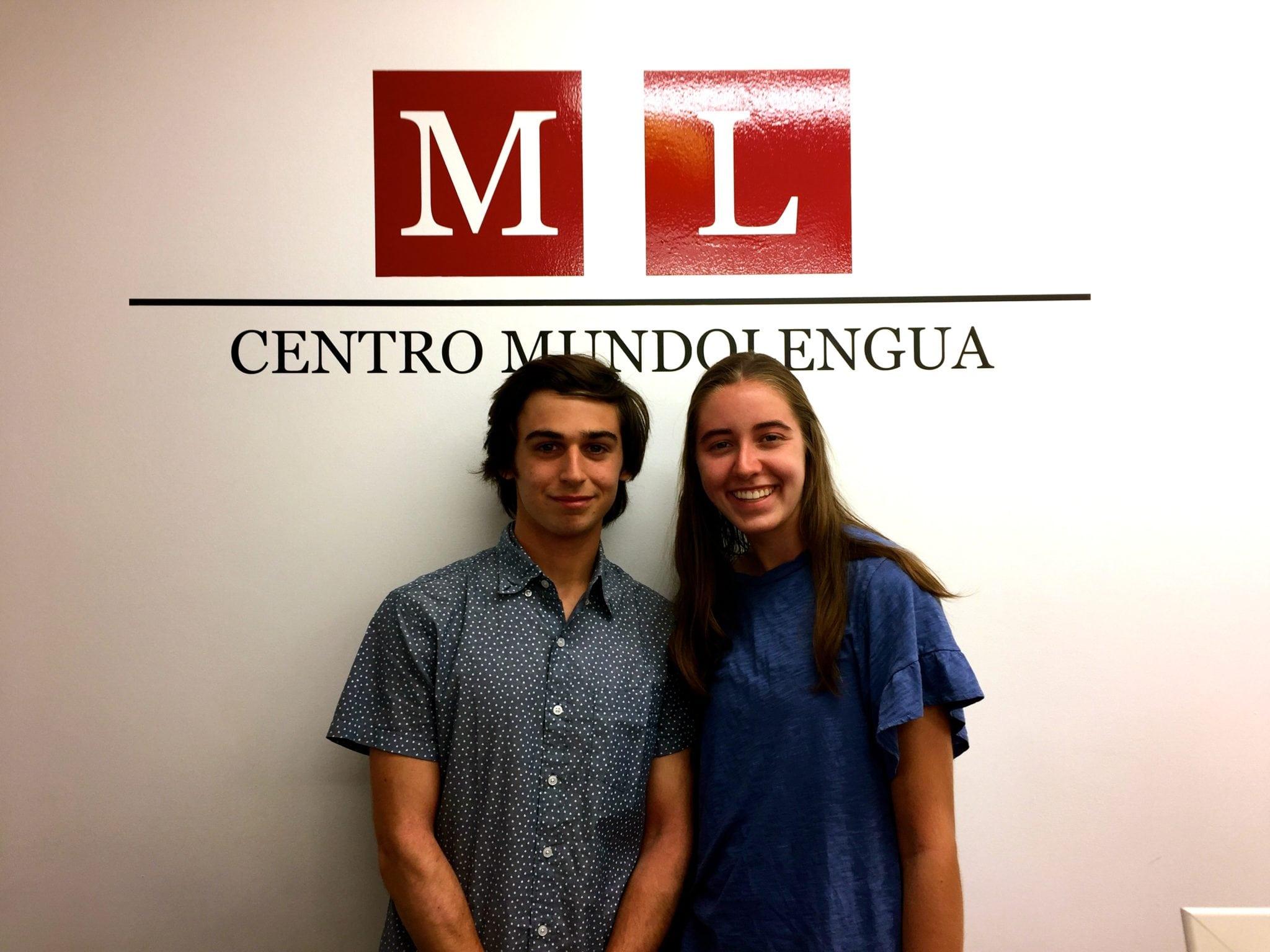 High school summer program students at Centro MundoLengua