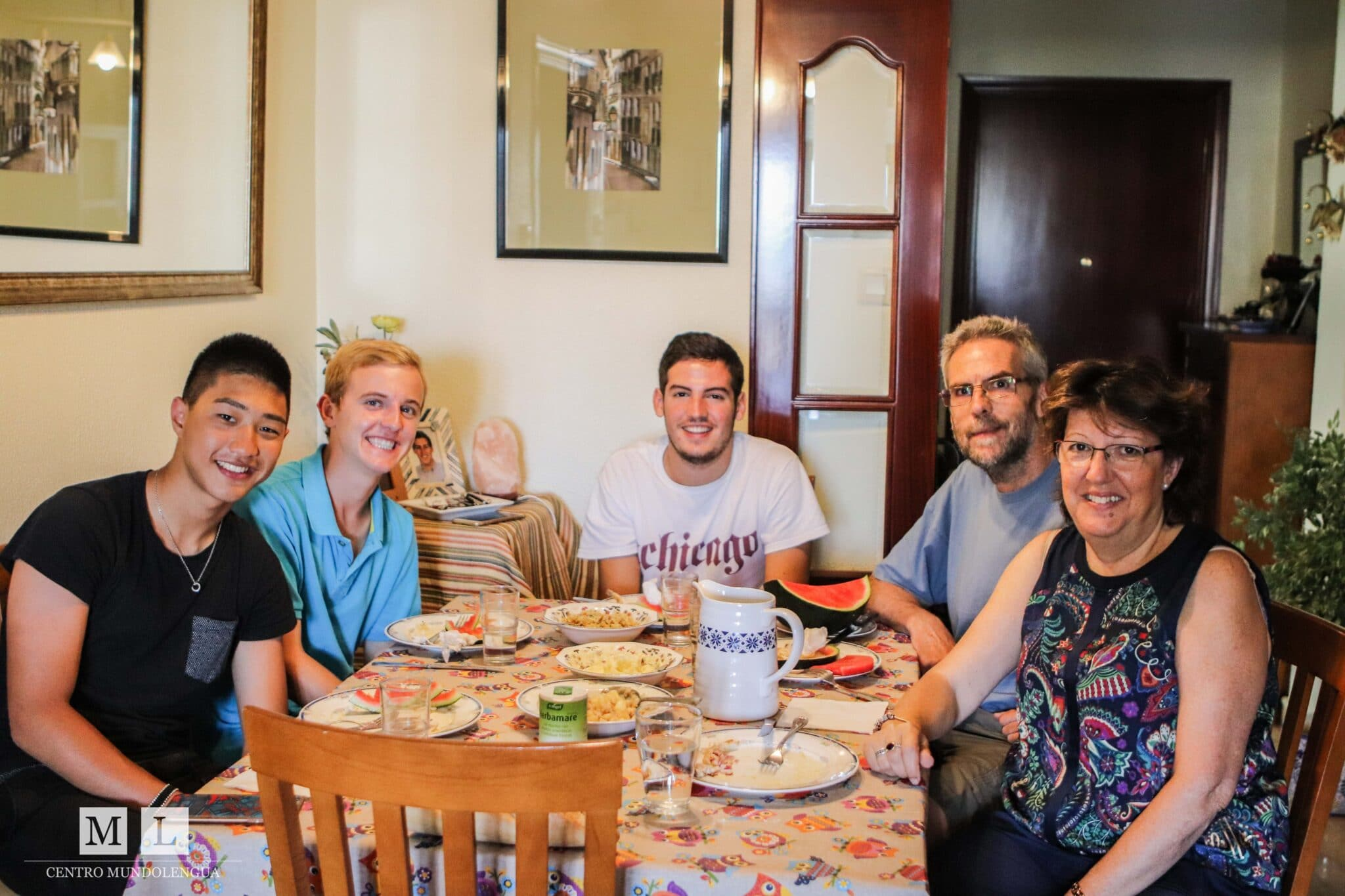 Living with a Spanish host family