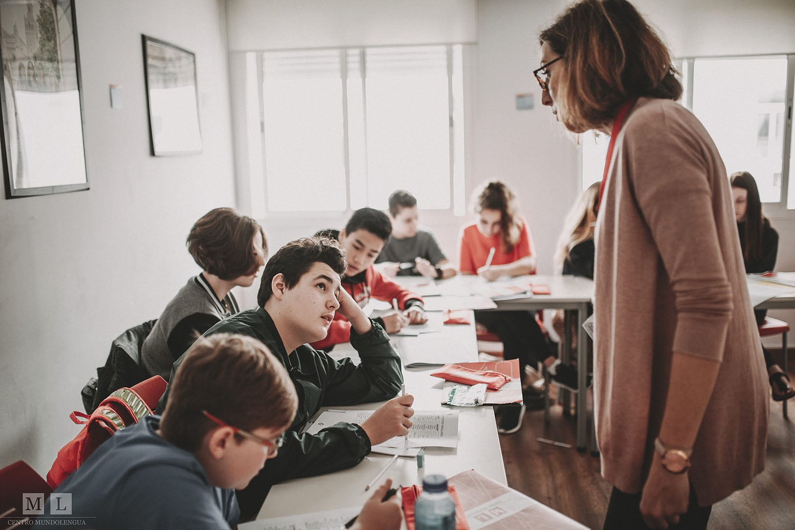 Teaching Spanish grammar