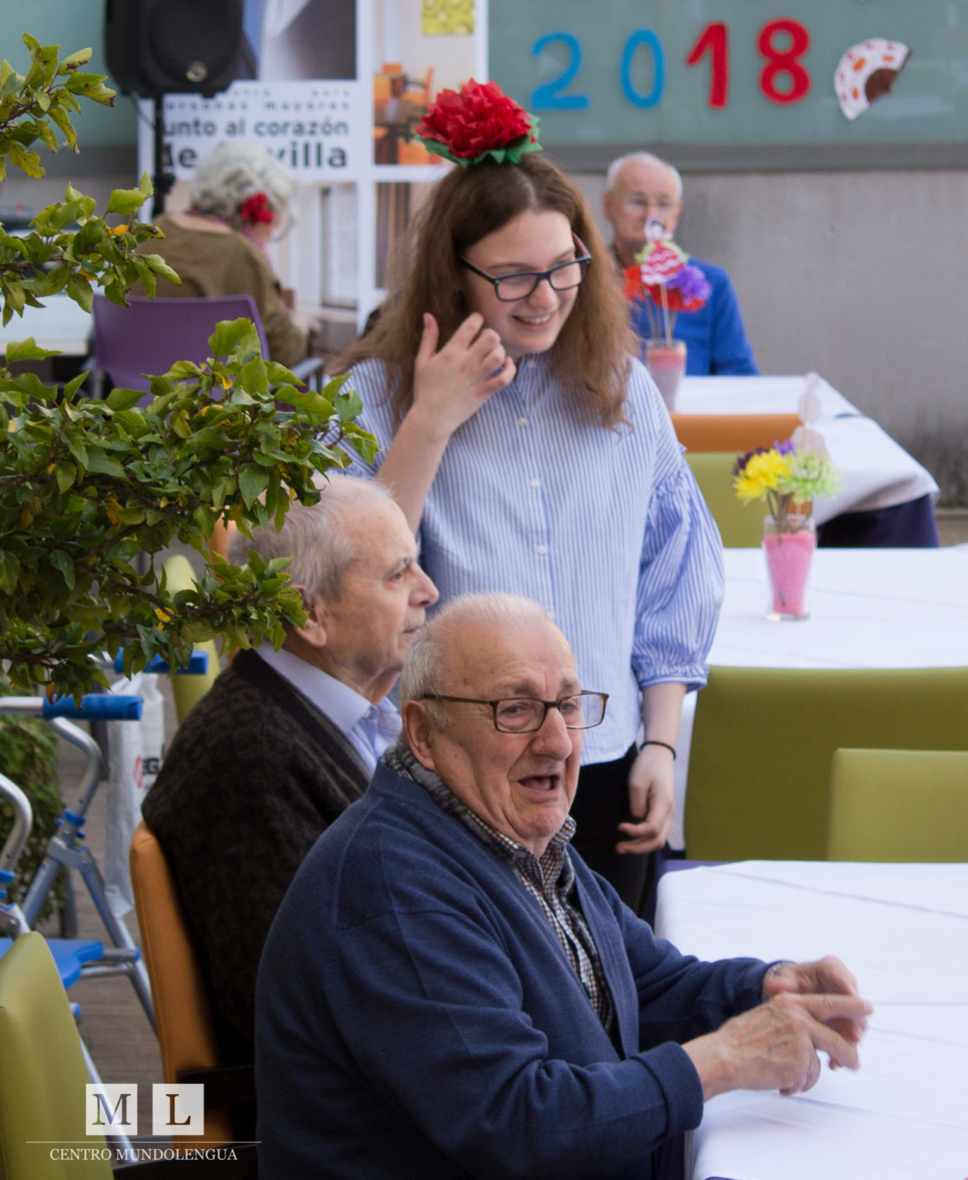 Volunteering with Pensioners