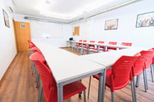 Our Spanish school in Sevilla - Classroom