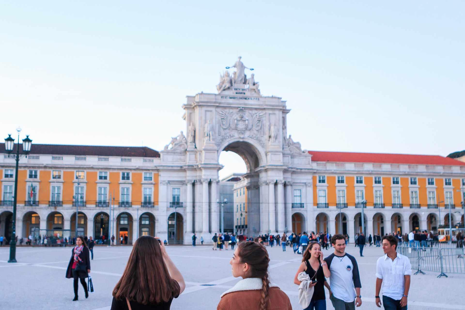 International tours in Portugal