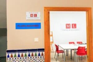 Our Spanish school in Cadiz - classroom - San Francisco de Paula facilities