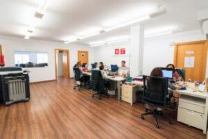 Spanish school in Sevilla - office area