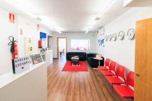 Spanish school in Sevilla - reception area