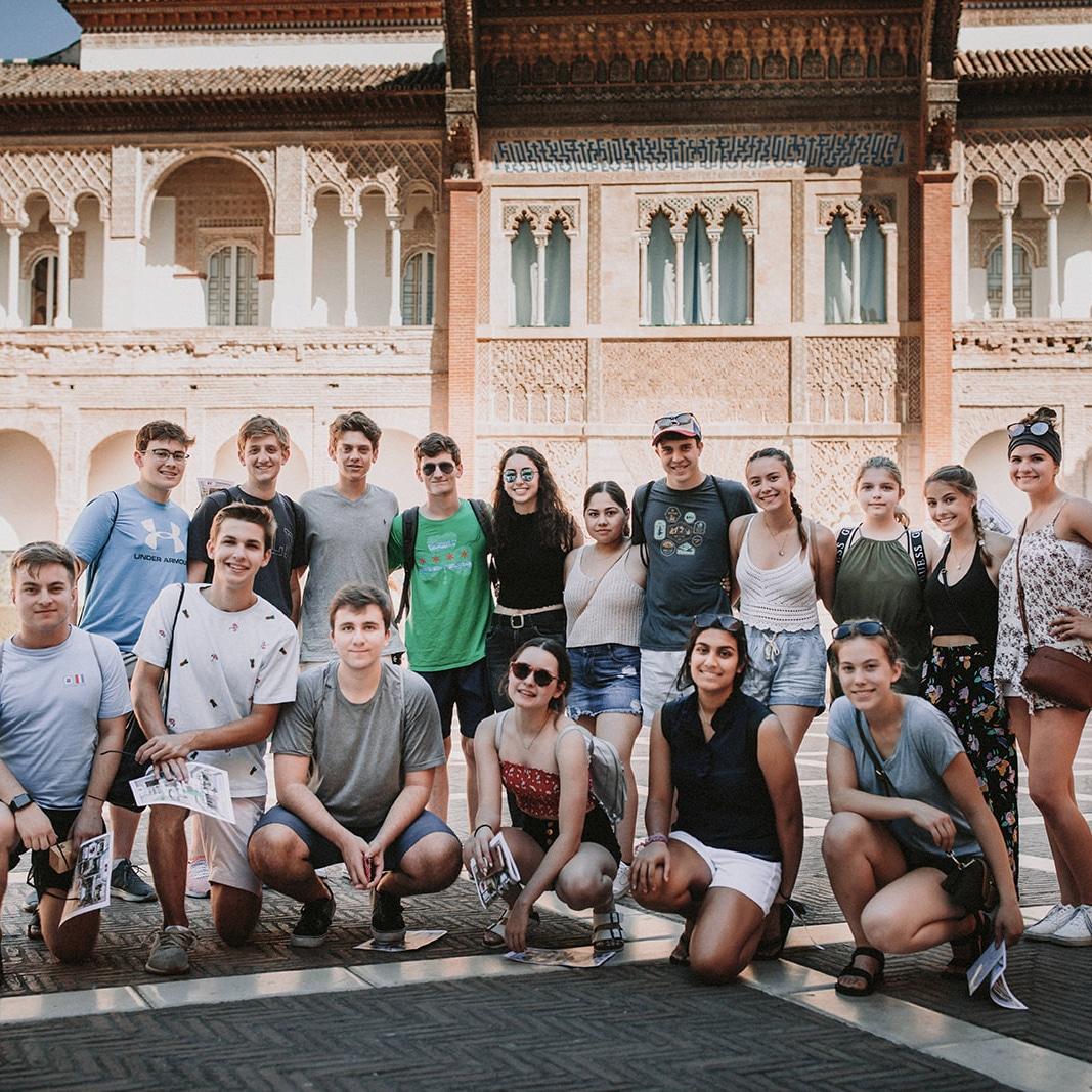Excursion to Sevilla - pre AP Spanish course in Cadiz