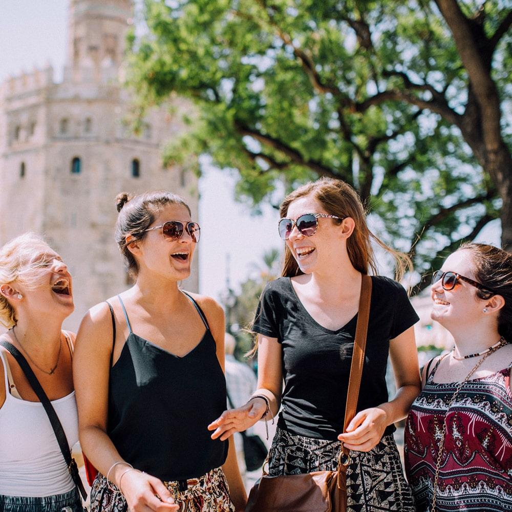 pre AP Spanish students visiting Sevilla, Spain