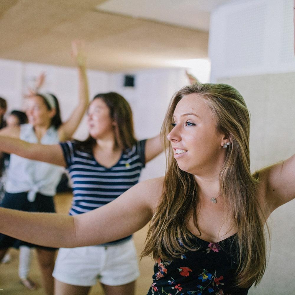 Sevillanas workshop - Summer Programs in Spain for High School Students