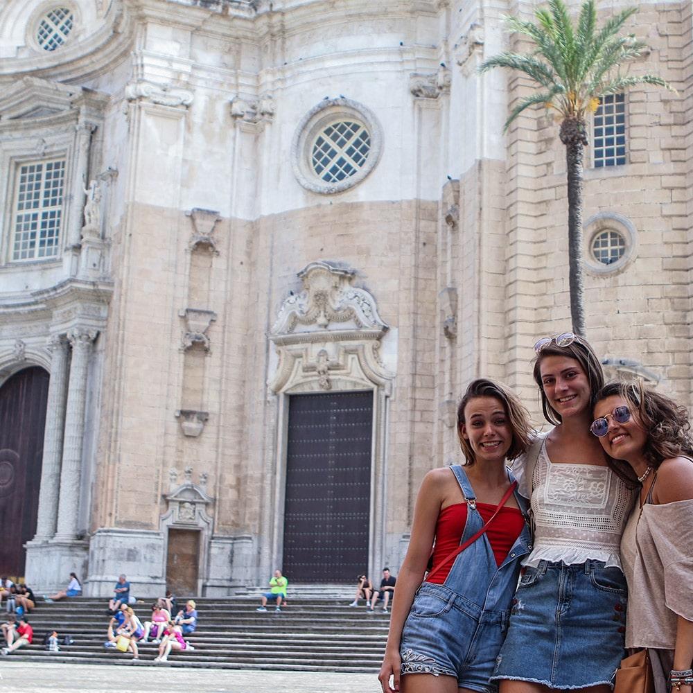 Visiting Cadiz - Summer Spanish immersion programs for high school students