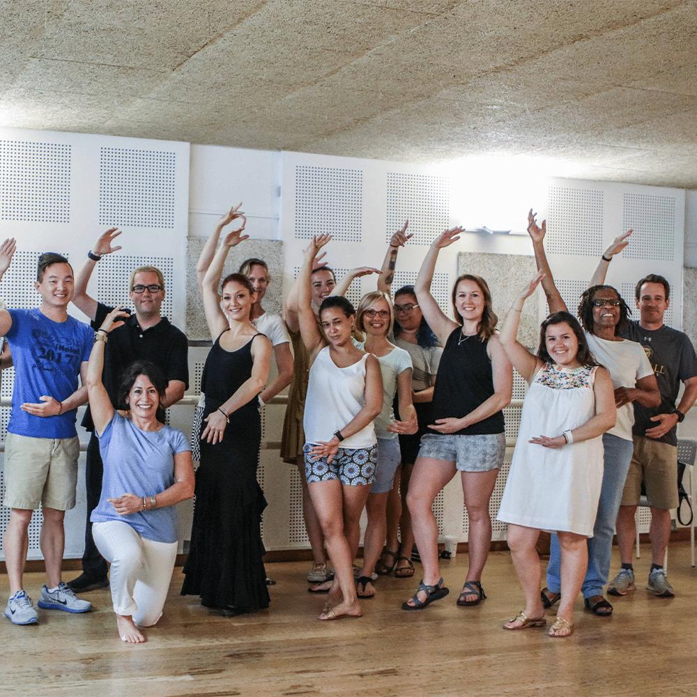 Sevillanas classes - Spanish teacher courses in Cadiz