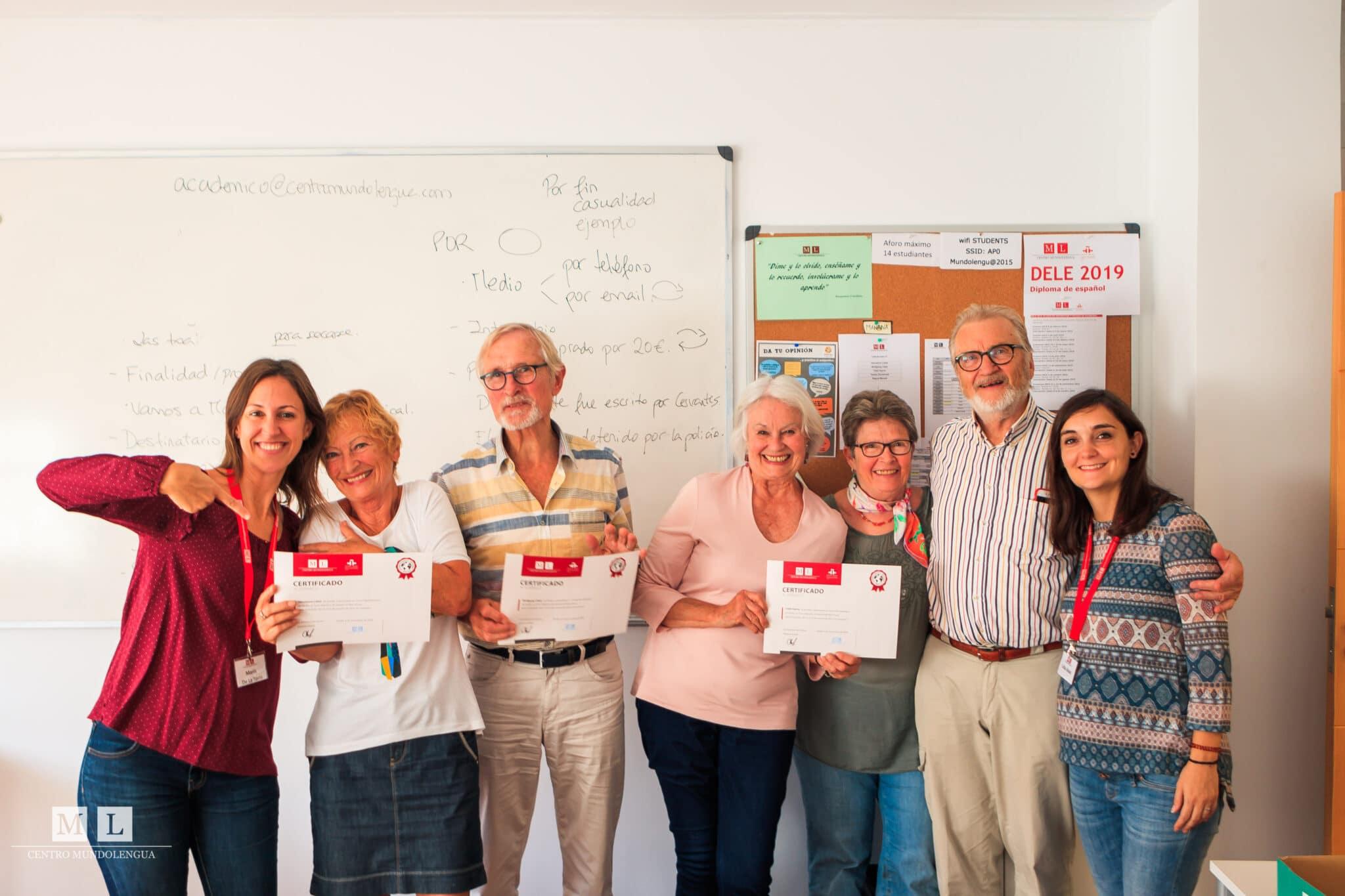 DELE exam preparation in Sevilla, Spain