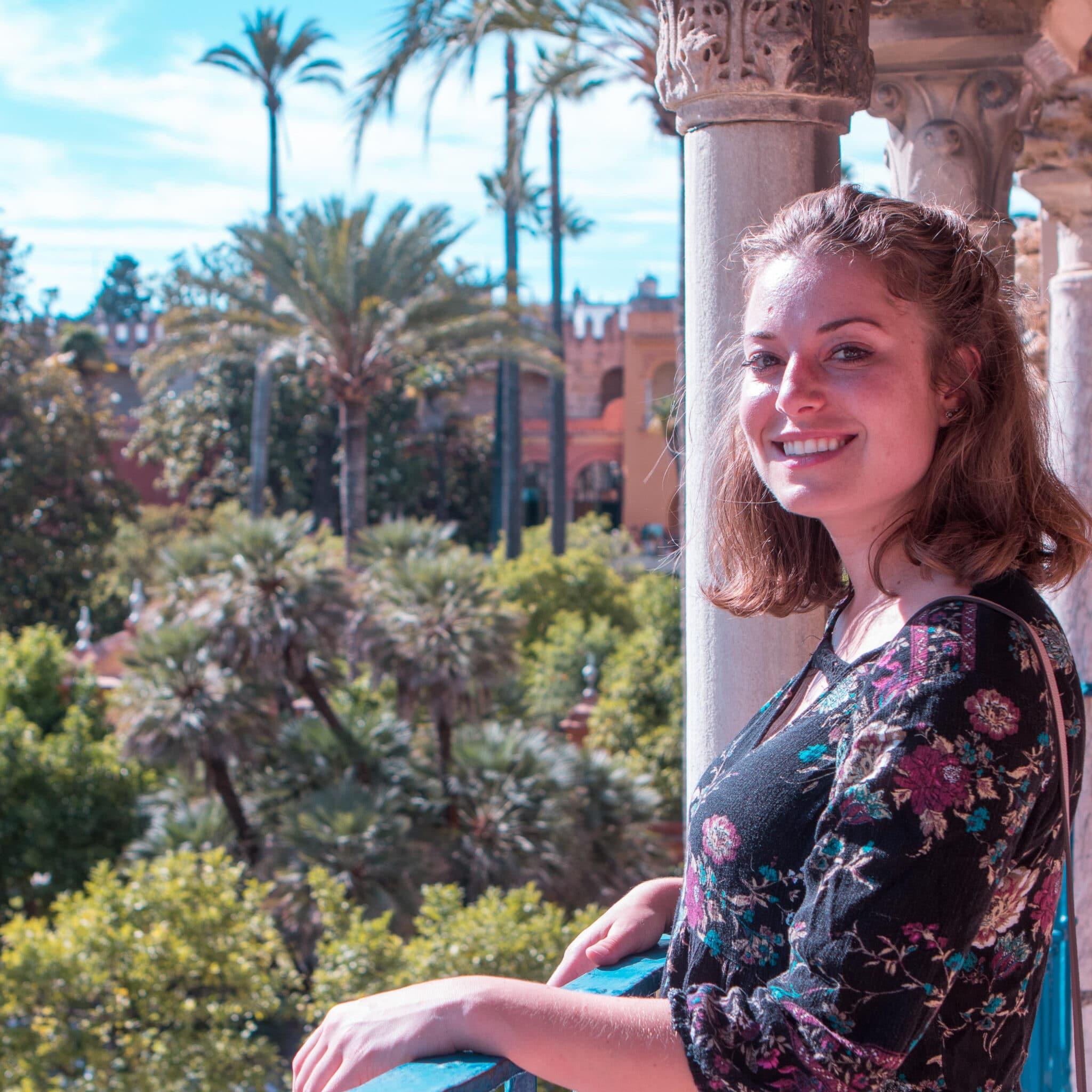 Visiting the Alcazar - Spanish courses in Sevilla, Spain