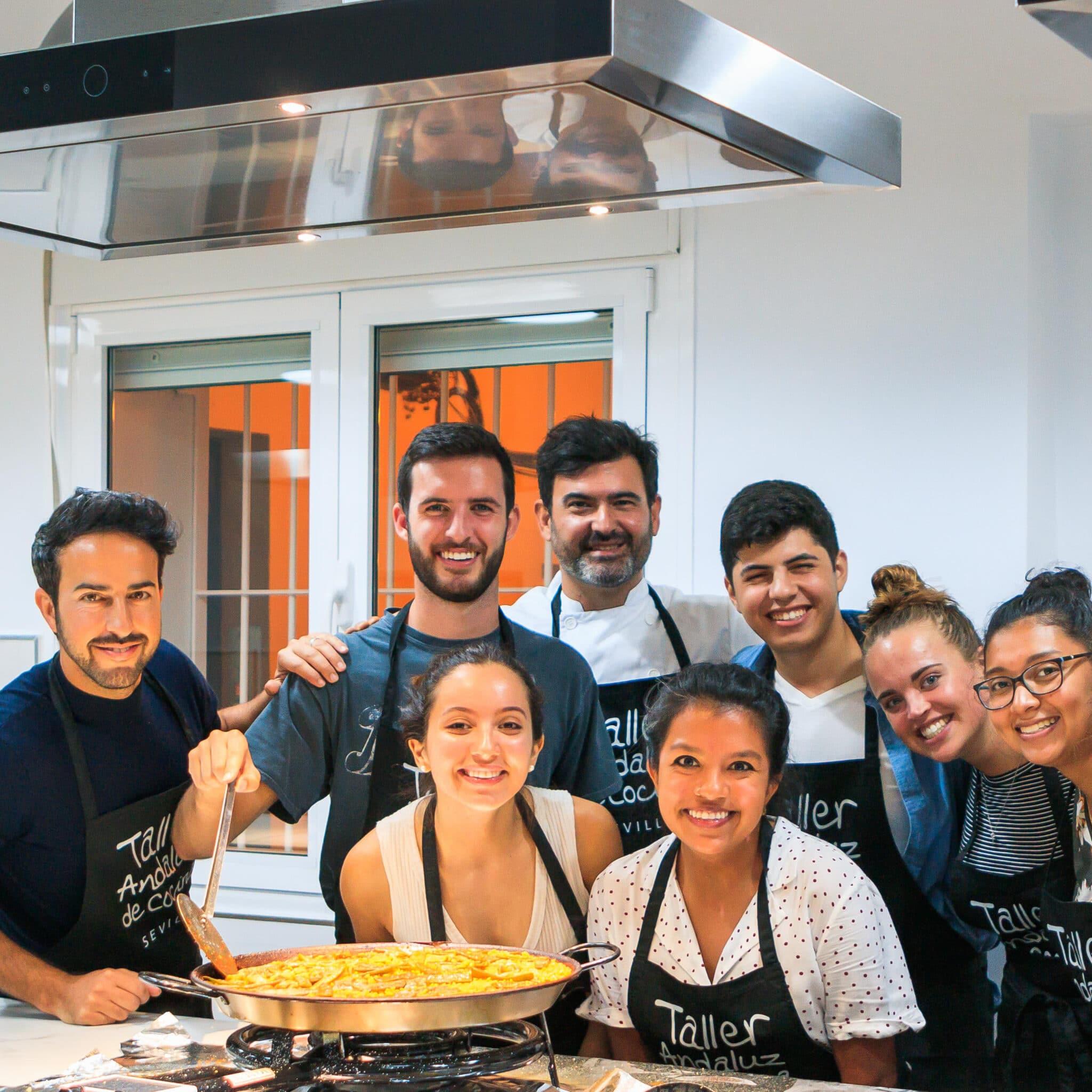 Paella cooking class - semester abroad in Sevilla, Spain