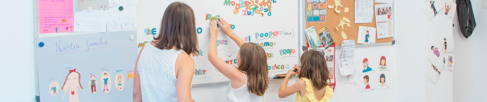 Spanish immersion programs for families