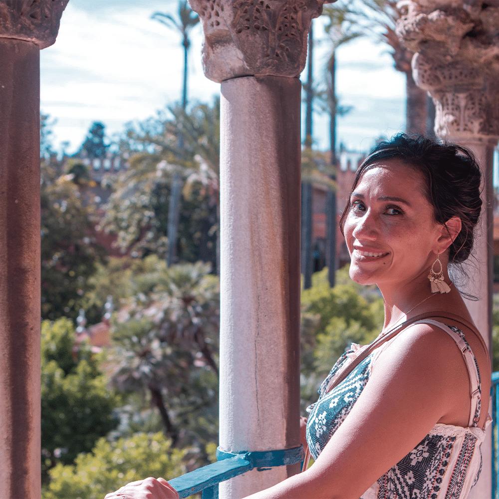 Visiting the Alcazar in Sevilla - Super intensive Spanish courses