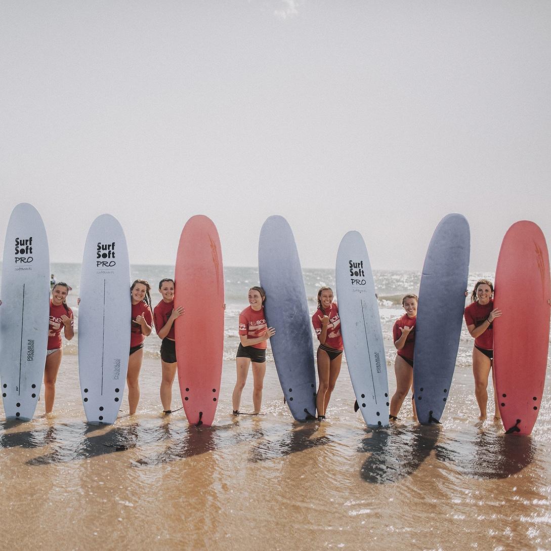 Surfing class in Cadiz - study abroad in Cadiz
