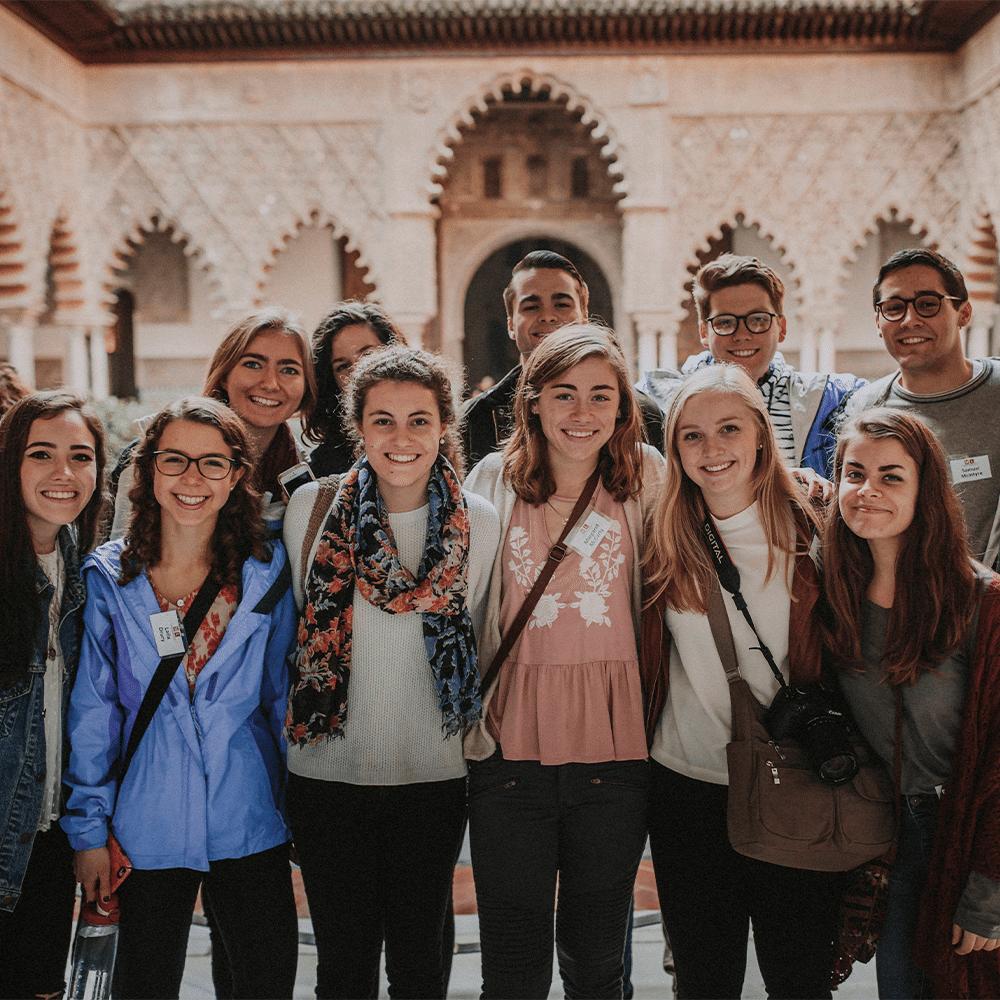 Visiting the Alcazar - study Spanish abroad